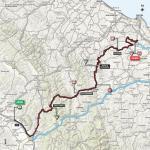 Streckenverlauf Giro d'Italia 2018 - Etappe 11