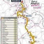 Streckenverlauf Paris-Roubaix Espoirs 2018