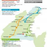 Streckenverlauf Tour du Pays de Vaud 2018