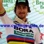 Weltmeister Peter Sagan feiert seinen 16. Etappensieg bei der Tour de Suisse