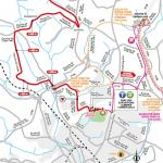 Streckenverlauf Tour de France 2018 - Etappe 5, letzte Kilometer