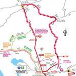 Streckenverlauf Tour de France 2018 - Etappe 6, letzte Kilometer