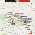 Streckenverlauf Vuelta a España 2018 - Etappe 9