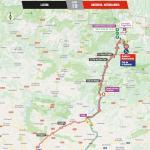 Streckenverlauf Vuelta a España 2018 - Etappe 19