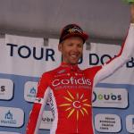 Ehrung des Gewinners der Tour du Doubs 2018, Julien Simon