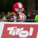 Das knuddelige WM-Maskottchen erfreute sich großer Beliebtheit.