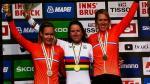 Einzelzeitfahren Frauen Elite, niederländischer Sweep (Van der Breggen, Van Vleuten, Van Dijk)
