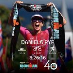 Daniela Ryf verbessert bei ihrem vierten Sieg am Ironman Hawaii den Rekord um 20 Minuten (Foto: twitter.com/IRONMANtri)