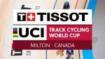 Bahn-Weltcup: Glaetzer auch in Milton Sprint-Champion, erneuter Sieg für Dänemark im Madison der Männer