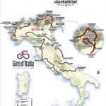 Präsentation Giro d Italia 2019: Die Streckenkarte