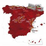 Präsentation Vuelta a España 2019: Streckenkarte
