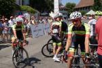 Fahrer des Teams Vorarlberg bei den Schweizer Meisterschaften 2018