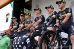 Team Lotto-Kern Haus bei der 2. Etappe der D-Tour 2018