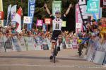 Marc Hirschi vom Sunweb Development Team gewinnt die 3. Etappe der Tour Alsace 2018