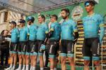 Astana bei der Teampräsentation von Il Lombardia 2018 (Foto: Christine Kroth)