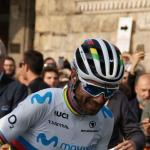 Sein erster Sieg im Regenbongetrikot: Weltmeister Alejandro Valverde, hier bei Il Lombardia 2018 (Foto: Christine Kroth)