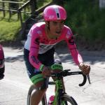 Etappensieger am Col de Turini: Daniel Felipe Martinez, hier bei der Tour de Romandie 2018 (Foto: Christine Kroth/cycling and more)
