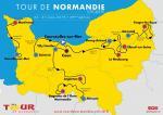 Streckenverlauf Tour de Normandie 2019