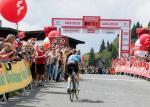 Der belgische Gesamtsieger von 2018 Ben Hermans erreicht das Alpenhaus (Foto: Expa Pictures)