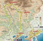 Präsentation Grand Départ Tour de France 2020: Karte Etappe 2