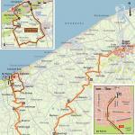 Höhenprofil Driedaagse Brugge - De Panne 2019 (Männer), letzte 3 km