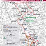 Streckenverlauf Giro dell'Appennino 2019