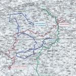 Streckenverlauf Tour d'Eure-et-Loir 2019
