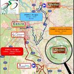 Streckenverlauf Tour de Gironde International 2019