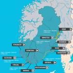 Streckenverlauf Tour of Norway 2019