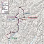 Streckenverlauf Giro d'Italia 2019 - Etappe 16 (alte Strecke)