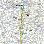 Streckenverlauf Tour de France 2019 - Etappe 3