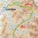 Streckenverlauf Tour de France 2019 - Etappe 20