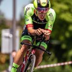 Jannik Steimle gewinnt den Prolog der Österreich Rundfahrt (Foto: Expa Pictures)