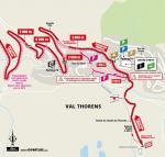 Streckenverlauf Tour de France 2019 - Etappe 20, letzte 5 km