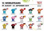 Deutschland Tour mit Spitzenbesetzung: Rekordzahl von 15 WorldTour- Mannschaften am Start