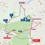 Streckenverlauf Vuelta a España 2019 - Etappe 18