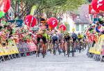 Giovanni Visconti sprintet bei der Tour 2019 in Frohnleiten zum Sieg