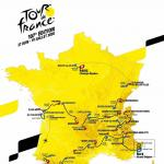 Präsentation Tour de France 2020: Streckenkarte