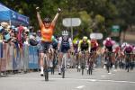 Chloe Hosking gewinnt die 1. Etappe der Women's Tour Down Under (Foto: twitter.com/tourdownunder)