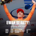 Caleb Ewan trägt nach seinem Etappensieg wieder einmal das Leadertrikot der Tour Down Under (Foto: twitter.com/tourdownunder)