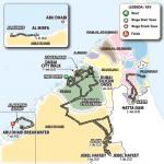 Streckenverlauf UAE Tour 2020