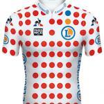 Reglement Paris - Nice 2020 - Weißes Trikot mit roten Punkten (Bergwertung)