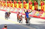 Nguyen Tan Hoai erobert mit zweitem Etappensieg beim HTV Cup die Führung zurück (Foto: facebook.com/htvthethao)