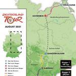 Deutschland Tour 2021 - von der Ostseeküste nach Franken