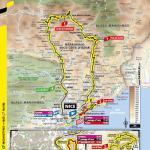 Streckenverlauf Tour de France 2020 - Etappe 2