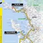 Streckenverlauf Tour de France 2020 - Etappe 10