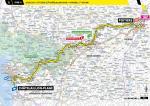 Streckenverlauf Tour de France 2020 - Etappe 11