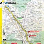 Streckenverlauf Tour de France 2020 - Etappe 12