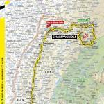 Streckenverlauf Tour de France 2020 - Etappe 19