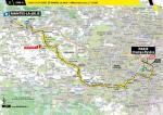 Streckenverlauf Tour de France 2020 - Etappe 21